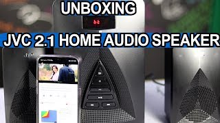 JVC 2.1 Home Audio Speaker Unboxing | Telugu