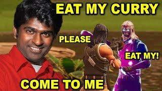 Indian Making Others Taste his CURRY in Fortnite (Funny Fortnite Voice Trolling) EPISODE 3