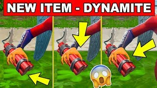 *NEW ITEM* DYNAMITE IS THE NEW TIME BOMB IN FORTNITE (WILD WEST LTM GAME MODE IS COMING SOON)