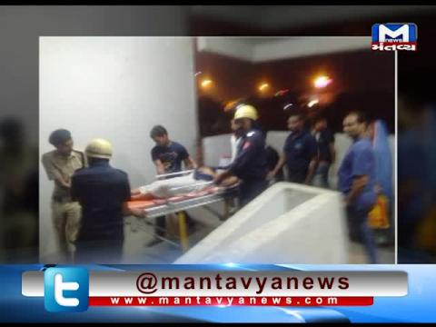 Surat: Fire crews rescued 7 people who had been trapped in an elevator of SMIMER Hospital