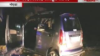 NOIDA पुलिस और बदमाश में मुठभेड़, बदमाश को लगी गोली