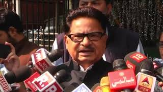 PL Punia and Sushmita Dev addresses media after meeting with election commission