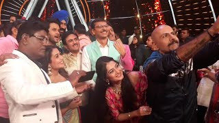 Tarak Mehta Team In Indian Idol 10 Special Episode - Onlocation Shoot - BollywoodFlash