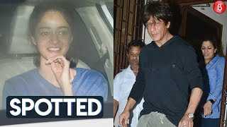 Shah Rukh Khan Ananya Panday and other celebs spotted in and around the city