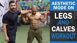 AESTHETIC MODE ON Legs and Calves Workout! DAY 4 (Hindi / Punjabi)