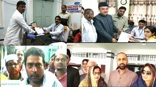 Nomination Final Day | All Party Mla Candidates Files The Nomination | @ SACH NEWS |