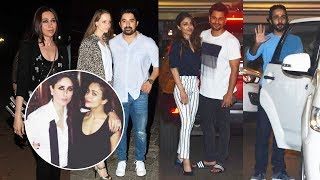 Bollywood Celebs At Kareena Kapoor FULL NIGHT PARTY | Karishma, Kunal Khemu, Soha