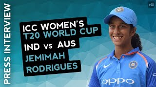 WWT20 M17 :Jemimah Rodrigues Press Conference 17/11