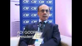 Mr. Adi Godrej  President -CII at CII's AGM & National Conference 2013