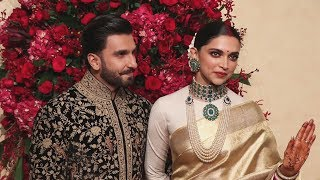 Ranveer Singh And Deepika Padukone GRAND ENTRY At Wedding Reception | DeepVeer Bangalore Reception