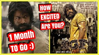 Just 1 Month Left For KGF Movie Release How Excited Are You?