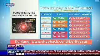 Perbandingan Harga e-Commerce: Mandiri E-Money Justice League Edition