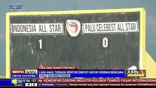 Laga Amal Indonesia All-Star Hibur Warga Palu
