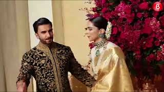 First visuals of Deepika and Ranveer at their wedding reception