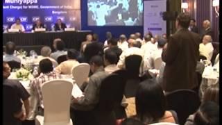 CII MSME Connect 2013- Interactive Session With Shri K H Muniyappa Part  5