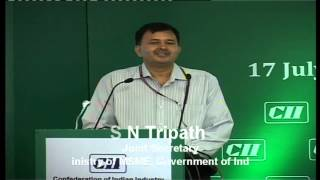Mr S N Tripathi Joint Secretary Ministry of Micro Small & Medium Enterprises