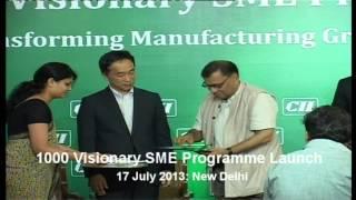 Release of CII 1000 Visionary SME Programme Brochure