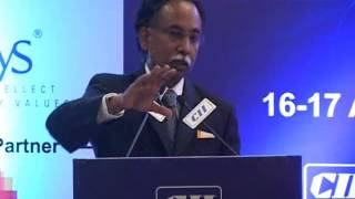Mr SD Shibulal MD & CEO Infosys Ltd at the Inaugural session of the Industry-IT Summit 2014