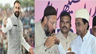 Feroz Khan Firing Speech On Asaduddin Owaisi And Kcr | @ SACH NEWS |