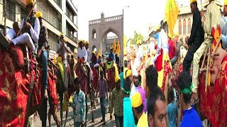 Milad un nabi Juloos Rally Hyderabad Charminar Celebrations | @ SACH NEWS |