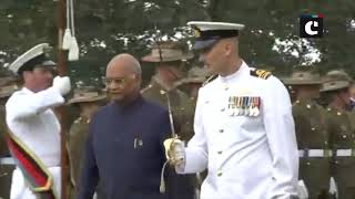 Prez Kovind receives Guard of Honour & 21-gun-salute in Sydney