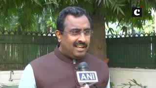 Probably PDP-NC had instructions from across the border to form govt: Ram Madhav