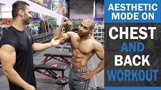 AESTHETIC MODE ON Chest and Back Workout! DAY 5 (Hindi / Punjabi)