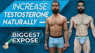 HOW TO INCREASE TESTOSTERONE NATURALLY (Without Supplements) | Tips to Boost Test Levels