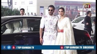 Ranveer Singh and Deepika Padukone Getting ready for Bangalore Reception #DeepVeer | Top Kananda TV