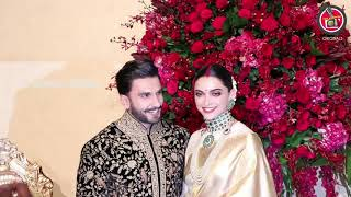 Ranveer and Deepika Padukone Reception Full Video Part 1 ||  Deepika Padukone Marriage