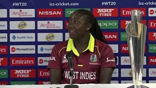 Windies Captain Stefanie Taylor pre tournament press conferences