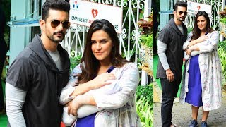 Neha Dhupia And Angad Bedis Baby FIRST VISUAL Mehr Dhupia Bedi