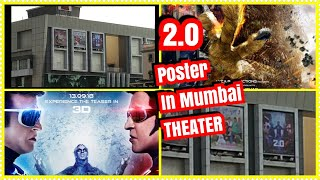 #2point0 Poster In Mumbai Theater l Promotions Started In Mumbai