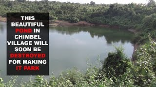 Development At The Cost Of Nature! Pond In Chimbel To be Destroyed For Making IT Park