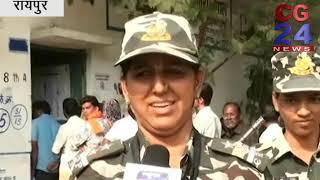 CRPF महिला Commando On Election Duty