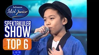 DEVEN - I'LL BE THERE (The Jackson 5) - TOP 6 - Indonesian Idol Junior 2018