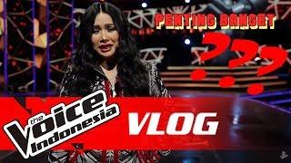 Coach Anggun Berbahaya Buat Coach Titi DJ? Kenapa?   VLOG #4   The Voice Indonesia GTV 2018