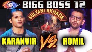 Karanvir Vs Romil In SULTANI AKHADA | Weekend Ka Vaar | Bigg Boss 12