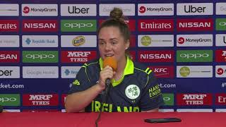 Ireland captain Laura Delany – post match press conference