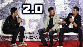 UNCUT - 2.0 Movie Press Conference In Mumbai With Akshay Kumar, Director Shankar And Karan Johar