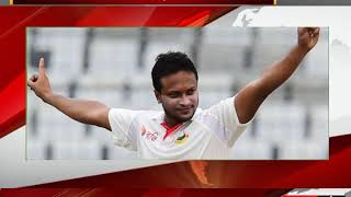 Shakib Al Hasan becomes quickest player to take 200 wickets and score 3,000 runs in Test Cricet