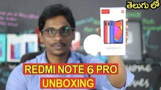 Redmi Note 6 pro mobile Unboxing | Under 13k | Telugu