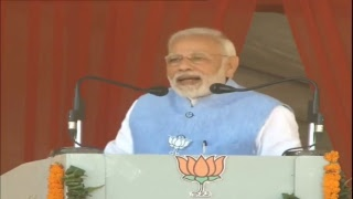 PM Shri Narendra Modi addresses public meeting in Alwar, Rajasthan : 25.11.2018