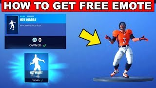 How to Get the FREE HOT MARAT EMOTE/DANCE - FORTNITE WRECK IT RALPH (FREE ITEM SHOP REWARD)