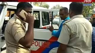 Silvassa : Rickshaw puller caught on the garden