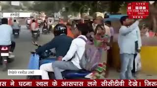 हरदोई में विहिप कार्यकर्ताओं ने बाइक रैली निकाली / THE NEWS INDIA