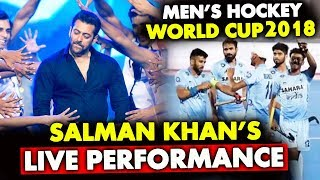Salman Khan To Perform LIVE At Men's Hockey World Cup 2018 | Odisha | Barabati Stadium