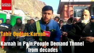 #KarnahInPain People Of Karnah Demand Tunnel From Decades,But Pdp and Nc always ignored Us:Public