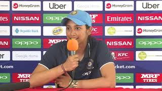 India player Smriti Mandhana – post match press conference