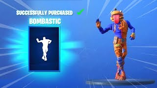 *NEW* BOMBASTIC EMOTE AND SKINS (Fortnite Item Shop November 26) - BOMBASTIC EMOTE